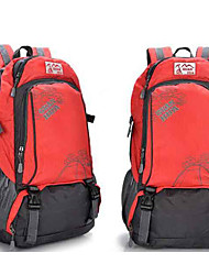 30 L Rucksack Camping & Hiking Climbing Leisure Sports Traveling Outdoor Performance Leisure SportsWaterproof Zipper Dust Proof Wearable