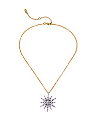 Women's Pendant Necklaces Star Chrome Unique Design Fashion White Jewelry For Wedding Congratulations 1pc
