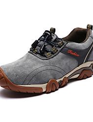 登山鞋 Sneakers Mountaineer Shoes Men's Anti-Slip Anti-Shake/Damping Wearproof Breathable Outdoor Low-Top Full-grain Leather EVA Hiking