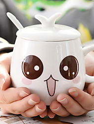 A novel cartoon to go Drinkware 400 ml of decorative girlfriend gifts ceramic coffee cup expressionDesign is random