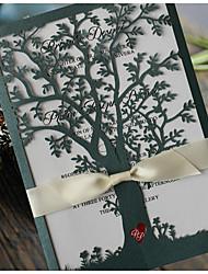 Plis Fenêtre Invitations de mariage 50-Cartes d'invitation Echantillons d'invitation Cartes de la Fête des Mères Cartons d'Invitation