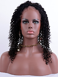 Top Grade Human Hair Full Lace Wigs Kinky Curly with Baby Hair 100% Peruvian Virgin Hair Lace Wigs for Black Woman