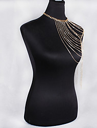 Women's Body Jewelry Body Chain Natural Fashion Bohemian Alloy Jewelry For Special Occasion Gift Casual