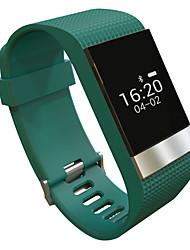 yyr2 умный браслет / смарт-часы / водонепроницаемый монитор сердечного ритма смарт часы браслет шагомер подходят ИОС Andriod приложение