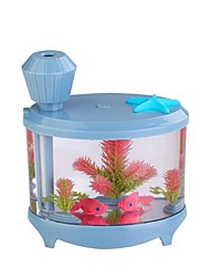 The Fish Tank Humidifier Mini Household Air Humidifying Purifier USB Humidifier Ultrasonic Small Night Lamp