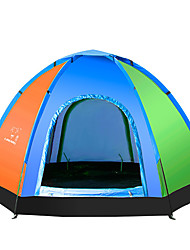 5-8 persons Tent One Room Camping Tent Well-ventilated Portable-Camping-