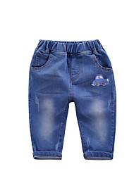 Boys' Casual/Daily Print Pants Spring Fall