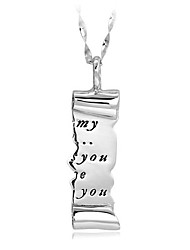 Necklace Non Stone Pendant Necklaces Jewelry Party Daily Casual Single Strand Natural Euramerican Personalized Alloy Gem 1pc Gift White