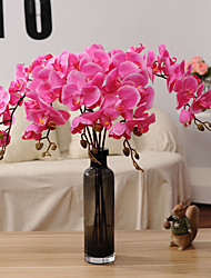 1 Branch Dried Flower Orchids Tabletop Flower Artificial Flowers