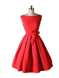 Vintage vermelho vestido vestido colar slim tutu saia borboleta juntos mãe
