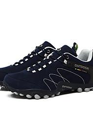 LEIBINDI Sneakers Hiking Shoes Running Shoes Men's Anti-Slip Anti-Shake/Damping Wearproof Outdoor Practise Low-Top Nubuck leather