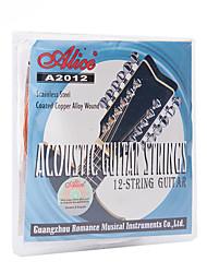 Professionnel Cordes Haute société Guitare Guitare acoustique nouvel instrument Acier Accessoires d'Instrument de Musique  Argent Bronze