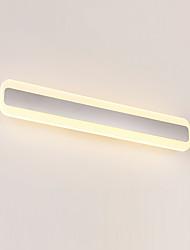 AC 100-240 20 LED Intégré Moderne/Contemporain Chrome Fonctionnalité for LED Ampoule incluse,Eclairage d'ambianceEclairage de Salle de