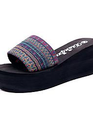 Women's Sandals Spring Summer Fall Comfort PU Casual Low Heel