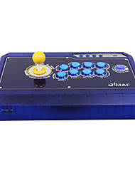 QANBA Q4RAF ice red/ice blue 3-IN-1 Pc Xbox360 Arcade Fighting Stick