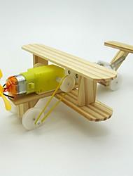Brinquedos Para meninos Brinquedos de Descoberta Kit Faça Você Mesmo Brinquedo Educativo Brinquedos de Ciência & DescobertaAeronave kit
