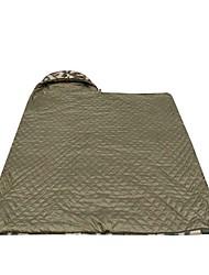 Schlafpolster Rechteckiger Schlafsack Einzelbett(150 x 200 cm) 10 Hohlbaumwolle 210X70 Wandern Camping Reisen Draußen