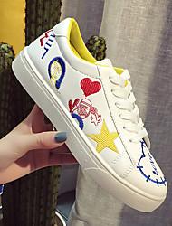 Primavera esportes calçados 2017 coreano novo harajuku ulzzang graffiti sapatos sapatos casuais mulheres