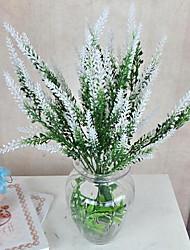 1 Ast Faser Lavendel Tisch-Blumen Künstliche Blumen 25*25*37.5