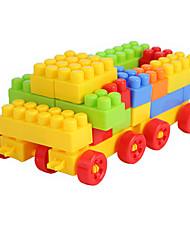 Blocos de Construir para presente Blocos de Construir Modelo e Blocos de Construção Forma Cilindrica 2 a 4 Anos 5 a 7 Anos Brinquedos