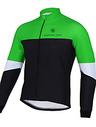 Cycling Jersey Men's Long Sleeve Bike Breathable Quick Dry Tops Terylene Fashion Spring Summer Fall/AutumnYoga Boxing Exercise & Fitness