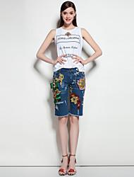 mary.yan&yusuits ajuste tipo padrão número lapelas O revestimento botões de tecido de partes da cor do revestimento da calça bolsos