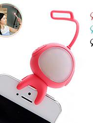 forma alienígena sem fio Bluetooth flash de preenchimento selfie conduziu a lâmpada de luz