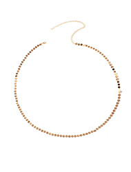 Women's Body Jewelry Belly Chain Fashion Copper Geometric Jewelry For Party Special Occasion Casual 1pc