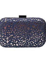L.WEST Women's Luxury High-grade Hollow Out Diamond Evening Bag