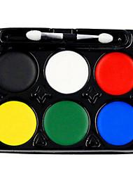 Concealer Farbiger Lipgloss Abdeckung Natürlich Malerei Trocken Schwarz Blau Grün Rot Gelb Weiß
