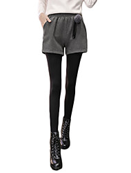 знак пятно новых зимы шерстяных шорт диких тонкие случайные внешние сапог носить, брюки пассив широких брюк ноги