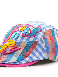 Children's Tide Cool Comfortable Cotton Han Pure Cotton Han Edition Cute Cartoon Hat Embroidery  Sunshade Hat Peaked Cap
