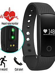 Bluetooth Smart Watch With Heart Rate Monitor Pedometer Remote Camera Function Waterproof Wristband