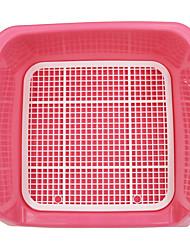 Perro Limpieza Kits de Aseo Impermeable Rojo Azul