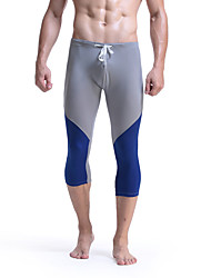 Homme Course / Running Leggings Respirable Printemps Eté Course/Running Coton Mince Vêtements de Plein Air Athleisure Classique