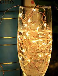 W Cordões de Luzes 500 lm DC12 10 m 100 leds RGB
