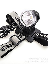 Headlamps LED Lumens Mode 18650 Compact Size Outdoor Aluminum alloy