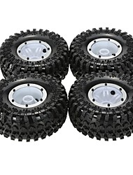 Original Austar AX-3022BU Air Pneumatic Beadlock Wheel Rim and Tire for 1/10 RC4WD D90 Axial SCX10 RC Crawler Truck