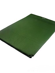 Moistureproof/Moisture Permeability Inflated Mat Camping Pad Fitness Mat Green Red Hiking Camping Traveling Indoor