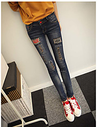 sexe taille spéciale type à ajustement de taille de conception pantalon de type modèle de style type pantsoccasion saison d'élasticité du