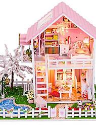 Sets zum Selbermachen Puppenhaus Freizeit Hobbys Haus