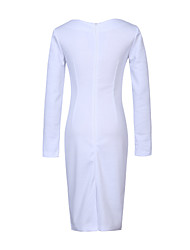 Women's Going out Street chic Bodycon Dress,Polka Dot Halter Maxi Sleeveless Silk Spring Low Rise Micro-elastic Medium