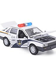 Baustellenfahrzeuge Aufziehbare Fahrzeuge Auto Spielzeug 1:25 Metall Weiß Model & Building Toy