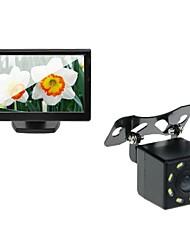 5 автомобилей TFT ЖК-монитор и заднего вида заднего вида 8-ночного видения камеры