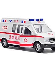 Rettungswagen Aufziehbare Fahrzeuge 1:16 Metall ABS Schwarz
