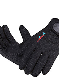 glove black RED