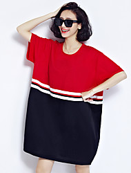 signo de la primavera nueva moda coreano de manga corta floja delgada sencilla literaria pequeño jersey de algodón fino