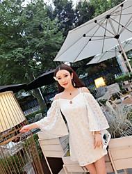 signe plage vacances robe dos nu dentelle marque marée thaïlande déesse sexy sans bretelles jupe robe