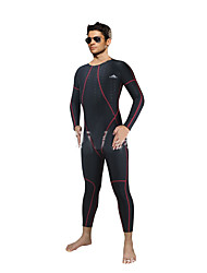 SBART® Men's Wetsuits Sunscreen Chinlon Diving Suit Long Sleeve Diving Suits-Swimming Diving Surfing Spring Summer Fall/Autumn Classic