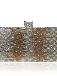 L.WEST Women's fashion elegant dinner dress diamond hand bag